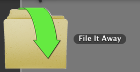 File It Away icon in the Dock